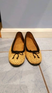 New! Aerosoles(Stitch N Turn) Leopard Print Flats