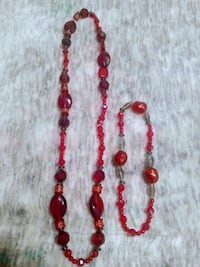Handmade beaded stretch cord necklace and anklet Corvallis, 97330