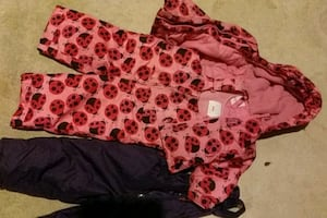 Baby girl snow pants/jacket