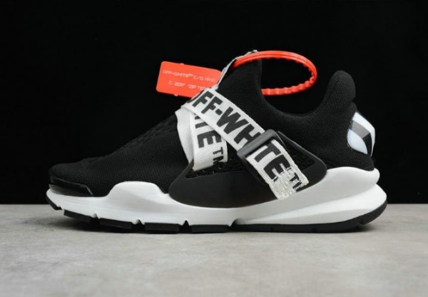 finest selection f3331 7c439 Le Scarpe Alla Moda Virgil Abloh OFF WHITE x Nike Sock Dart Black White  Running Shoe