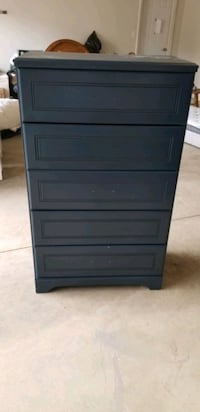 blue dresser for sale good condition never used 150 or best offer Hamilton