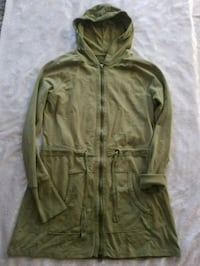 Olive green long hooded sweater Salinas, 93901