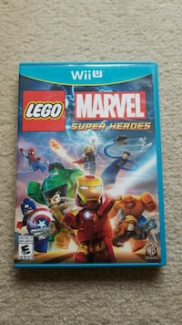 Lego Marvel Super Heroes game - Wii U  Whitchurch-Stouffville, L4A 0L8