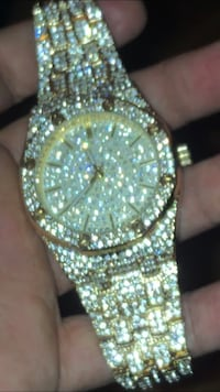 Iced out watch Fort Lauderdale, 33317