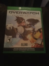 Xbox One Overwatch game case