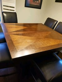 Tall table with 6 chairs  Euless, 76039