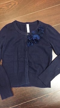 Girls cardigan size medium or 7/8 youth Vaughan, L4L 6A9