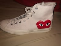 Pair of white converse all star high top sneakers Oakwood, 30507