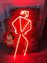 Vintage coors red neon sign Fort Mill, 29715