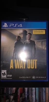 A Way Out PS4 Vancouver, V5Y 2R3