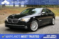 BMW 7 Series 2012 Sykesville