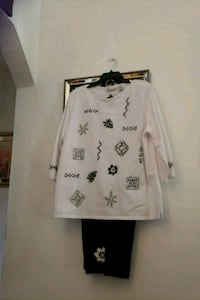 white and black long-sleeved shirt Queens, 11429