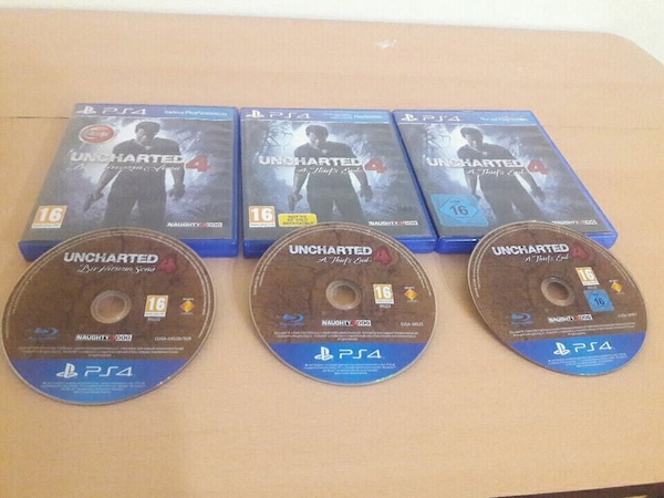 Uncharted4 ps4 oyun