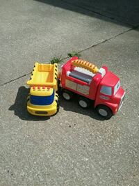 yellow and red truck toys Akron, 44314