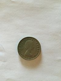 Queen Elizabeth the second 1962 Coin  柯林斯, 39428