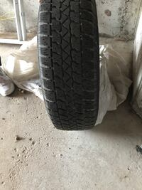 4 winter tires with steel wheels Newmarket, L3X 1V2