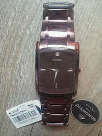 BRAND NEW MENS FOSSIL WATCH $70.00 or best offer!! 584 mi
