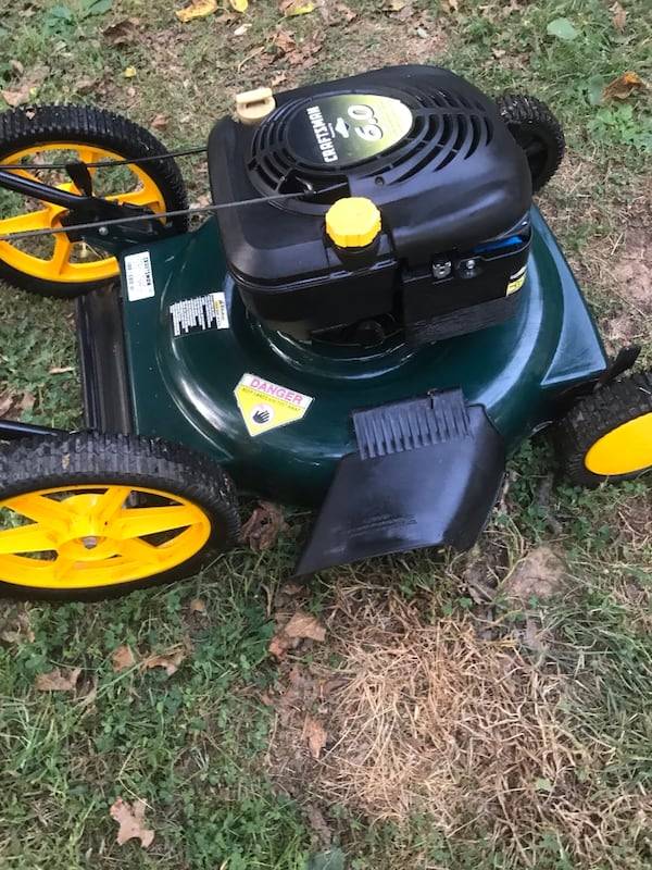 Craftsman mower- if ads up it's available 087233f0-b40e-4ba2-8e09-d3136c25285d