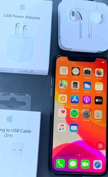 APPLE IPHONE X 62 GB AT&T T-MOBILE. GSM UNLOCKED
