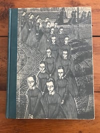 Rare 1945 Jane Eyre Book by Charlotte Bronte, old antique books