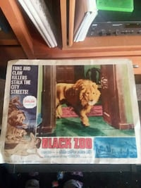 1963 BLACK ZOO movie POSTER Las Vegas, 89106