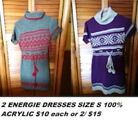 Nwot two energy dresses size small Fulton, 13069