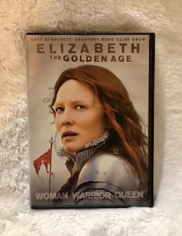 """""""Elizabeth The Golden Age"""" DVD, 2007..Widescreen..Pre-Owned In EUC"""