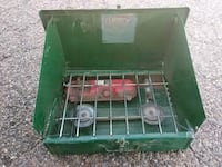 green and gray Coleman gas stove Clovis, 88101