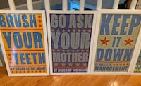 High quality, framed children's posters Falls Church, 22042