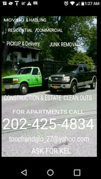 moving & Hauling Capitol Heights, 20743