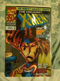 X-MEN COMIC GAMBIT