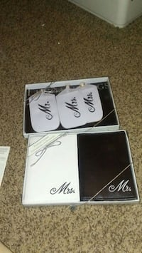 Mr. And Mrs bag tags and passport covers Cleveland, 44102