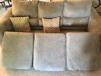 7 ft suede couch Vaughan, L6A 0K7