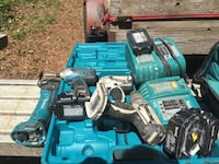 Blue and black makita cordless power drill Indian Trail, 28079