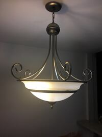 Beautiful chandelier, only six months old. Must sell.