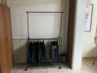 Laundry rolling cart