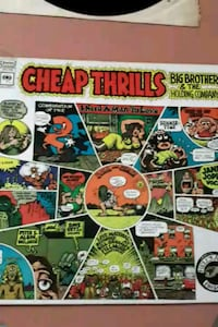 Big Brother and the Holding Company vinyl album