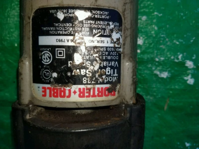 Sawzall Porter-Cable Tiger d0bade5c-0701-44f9-add2-5a591f3df8aa