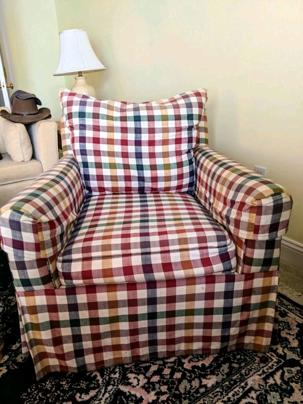 Puritan Furniture Plaid Chair