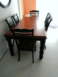 6 pc table set with chair and the option to extend Frederick, 21703