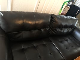 Sofa, Loveseat & Chair Durablend leather  Make offer