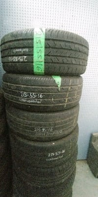 Set of (4) continental tires  [PHONE NUMBER HIDDEN] %) Mississauga, L4W 3C6