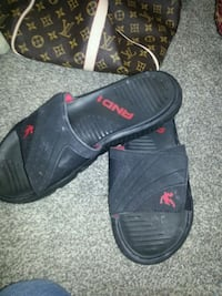And one sandals