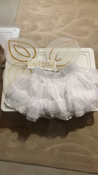 White and pink tutu skirt Halloween  Barrie, L4M 7K4