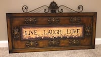 Metal Live Laugh Love sign  Middletown, 21769
