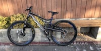 black and blue full suspension mountain bike Citrus Heights, 95621