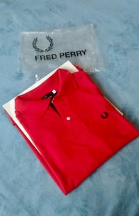 Polo Fred Perry rojo hombre
