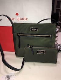 BNWT Authentic Kate Spade Nylon- Army Green  Pickering, L1V 5N2
