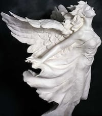 "Gaylord Ho ""Transcendence"" Parian Sculpture 32"""