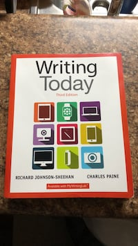 Writing Today Third Edition.  Great condition Lafayette, 70503